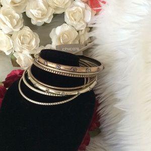 NWT Chico's bracelets